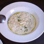 ピッツェリアマルターノ - パルミジャーノチーズのリゾット