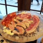 パッチギ - サムギョプサルの豚三種盛(二人前)(2012年)