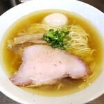 中華そば  さわ - 料理写真:玉子入り塩中華そば750円!
