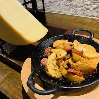 チーズをふんだんに使用した逸品の数々をお召し上がりください!