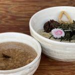 餃子の並商 - 牡蠣背脂つけ麺...牡蠣は?