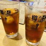 ときすし - 2杯めは烏龍茶
