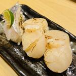 ときすし - 帆立と太刀魚
