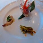 Tentsuusaikan - 前菜3種盛り