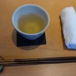 そば一仁 - ドリンク写真:蕎麦茶