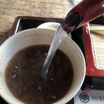 萬陣 - 蕎麦湯