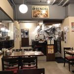 ベンガル - 17時開店直後なのでお客さんはいないです。