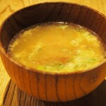 ぎょうざ処 高辻 亮昌 - 豚なんこつスープ