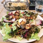 Gasse - 本日のランチ/鶏レバーコンフィの無農薬サラダランチ(税込1,188円)