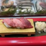 立喰 さくら寿司 - ・本マグロ 3点盛合せ 600円