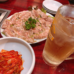春香苑 - 料理写真:ハイボールで乾杯!