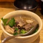 れんげ料理店 - 料理写真:2020.11 名物 テール大根(1,350円)