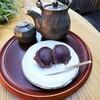 中将堂本舗 - 料理写真:中将餅 せん茶セット