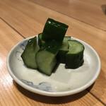 清喜 - 箸休め きゅうりの水漬け