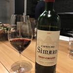 清喜 - からの赤ワイン