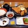 京いぶき - 料理写真:カツ・カキ定食+カキフライ