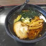 海辺の湯 - 料理写真:醤油ラーメン