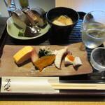 141018992 - 鯖寿司セット 1980円(税込)+英勲 990円(税込)