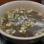 知味笑龍 深澤ラーメン - チャーハンのスープ