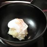 味吉兆 ぶんぶ庵 - お凌ぎ 鯛の黄金蒸し