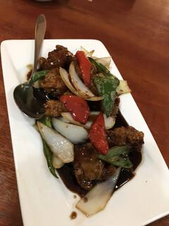 大連食府 - 黒酢豚