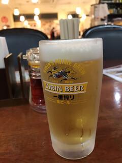 大連食府 - 生ビール