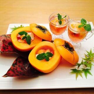一皿に季節感。目でも堪能できる趣向を凝らした料理の数々