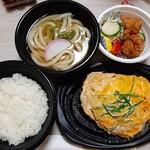 手打ちうどん DAIKI - スペシャル定食850円