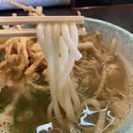 Tsuruya - 細めでコシのあるうどん麺