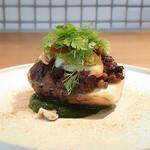 141035015 - 愛媛県伊予美人と北海道アンガス牛ミンチのオーブン焼き