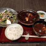 141036184 - 煮こみハンバーグ膳1650円