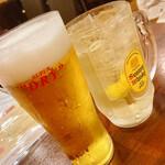 オリエンタルビストロK - 【生ビール(アサヒ) ¥500】