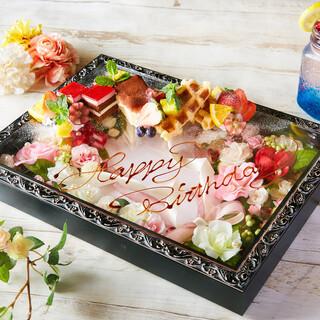 ☆誕生日・記念日に☆サプライズはフラワーボックスで!!
