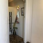 ブラッセリー ブルゴーニュ - 入り口の扉