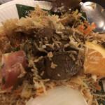 141037358 - ラムビリヤニ(ボリューミーなラム肉)