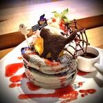 cafe LUKE - ルークのパンケーキ ハロウィン(10月限定)