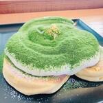cafe LUKE - ルークのパンケーキ 西尾の抹茶ティラミス