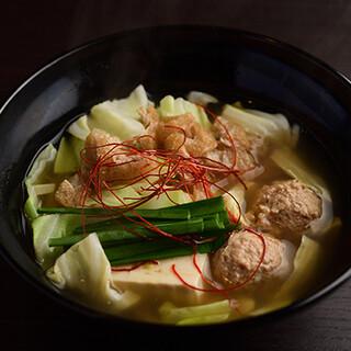 相撲部屋の本格塩ちゃんこ鍋をランチメニューでご堪能ください!