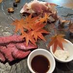 軽井沢ベジビエ - ベジビエジビエのいいとこ取り♪シカ肉とイノシシ肉