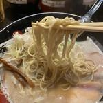 141049263 - 加水率低めの細麺(お決まりの替玉は¥100)