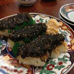 扇鶴 - 焼き鯖寿し1,570円(第一回投稿分③)