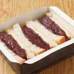小倉とバターのサンドイッチ