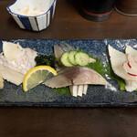 森井本店 - 生寿司盛り合わせ