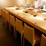鮨 仙酢 - ☆カウンター席の雰囲気はこちら(#^.^#)☆