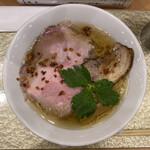 なにわ 麺次郎 - 黄金貝らーめん(ノーマル) 850円