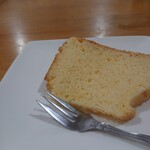 キッチン美味小家 - 柚子シフォンケーキ