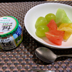 ANAクラウンプラザホテル大阪 - 朝食のフルーツ