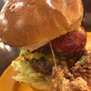 エヌオーエヌハンバーガーカフェ - 料理写真:WビーフWチーズバーガー+目玉焼きトッピング(UP)