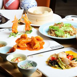 「美」と「健康」をテーマとしたお料理でお客様をおもてなし♪