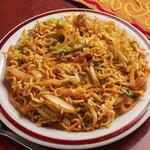 パティヤラパレス - チャウメン(ネパール焼きそば)